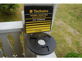 Technics NAB / metallspole / med orig. RT-10B 218 Box - f. Revox Sony Akai Teac - älghult - Technics NAB / metallspole / med orig. RT-10B 218 Box - f. Revox Sony Akai Teac - älghult
