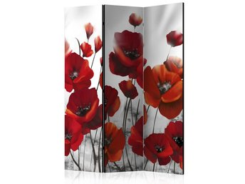 Rumsavdelare - Poppies in the Moonlight Room Dividers 135x17
