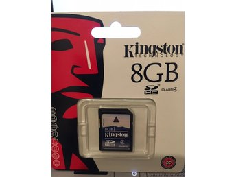 I förpackning - Kingston 8GB SDHC Class 4 Flash Card Single Pack