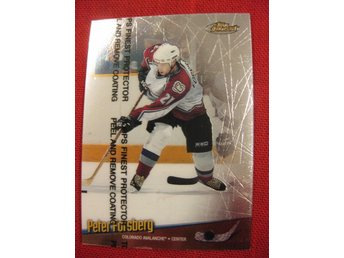PETER FORSBERG COLORADO AVALANCHE - TOPPS FINEST 1998-1999 - 98-99