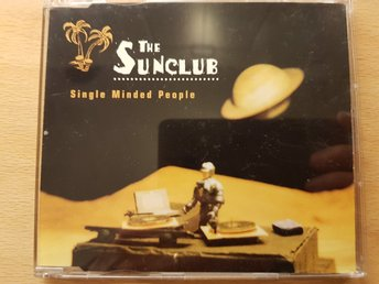 THE SUNCLUB – Single Minded People CD-singel 1997 Nyskick! House Electronic