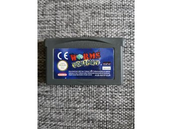 Worms World Party - Gameboy Advance, gba