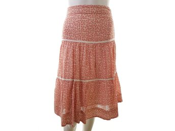 Noa noa size XL Skirt cotton pattern 100% pink