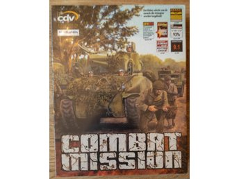 NY! COMBAT MISSION REAL TIME 3D KRIG STRIDSSPEL PC CD-ROM