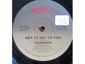 "12"" maxi: CHARADE Got To Get To You (USA 1983) Hi nrg!"