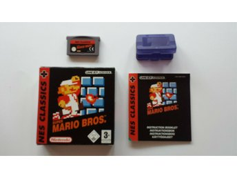Super Mario Bros Nes Classics Nintendo Game Boy Advance SP spel