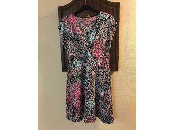 Cappuccino klänning leopard, stl m, flerfärgad,.. (414871303