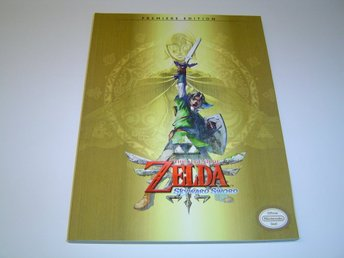 The Legend of Zelda Skyward Sword Spelguide Guide *NYTT*