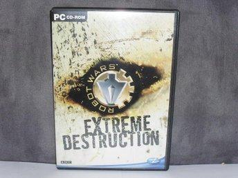 PC cd-ROM spel Robot wars Extreme destruction - Uppsala - PC cd-ROM spel Robot wars Extreme destruction - Uppsala