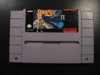 STARFOX / SUPER NINTENDO SNES / USA IMPORT