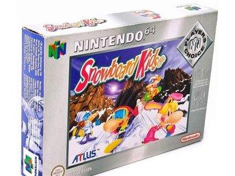 Snowboard Kids - Players Choice - Nintendo 64 - Varberg - Snowboard Kids - Players Choice - Nintendo 64 - Varberg
