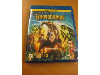GOOSEBUMPS - JACK BLACK - BLU-RAY 2016
