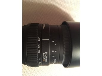 Sigma 55-200mm F4-5.6 DC for Nikon