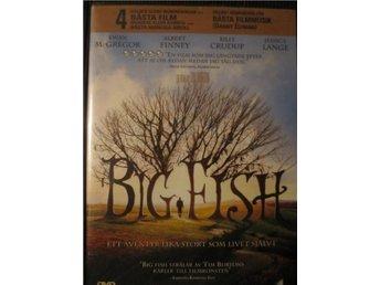 Big Fish / Tim BurtonFilm / Inplastad Och Ny ! - Enköping - Big Fish / Tim BurtonFilm / Inplastad Och Ny ! - Enköping