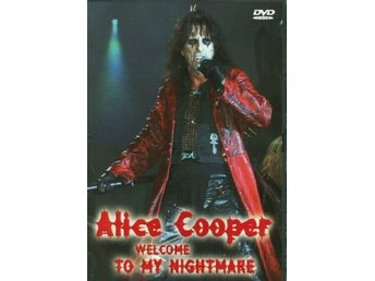 welcome to my nightmare Alice Cooper dvd