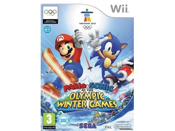Mario & Sonic At The Olympic Winter Games till Nintendo Wii