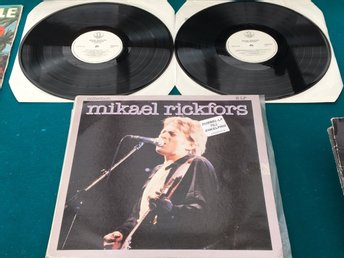 MIKAEL RICKFORS COLLECTION 2 LP 1986 SKICK MVG