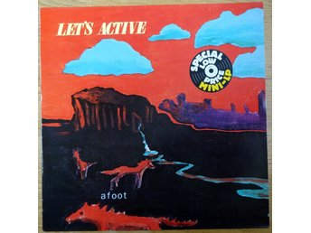 Let's Active-Afoot (I.R.S. Records ILP 25624) 1983