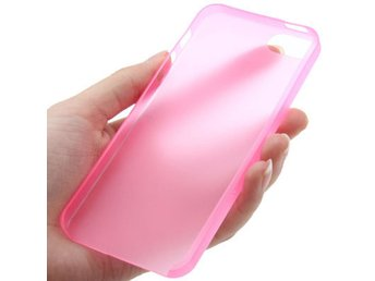 iPhone 5/5S Transparent Skal Rosa