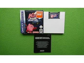 Kirby Nightmare in Dream Land SVENSKSÅLT Nintendo GBA - Västerhaninge - Kirby Nightmare in Dream Land SVENSKSÅLT Nintendo GBA - Västerhaninge