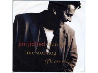 "JIM JIDHED (EX) – Stan Är Inte Stor Nog / 7"" Vinyl PS Single Sweden '91 / Alien"