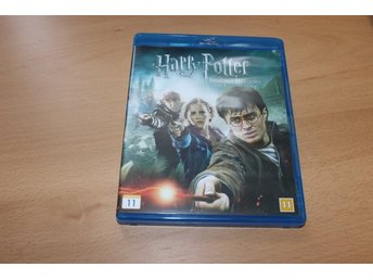 Blu-ray: Harry Potter and the deathly hallows part 2 (Daniel radcliffe)