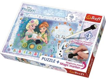 Trefl Pussel Frozen + Magic M. 70b
