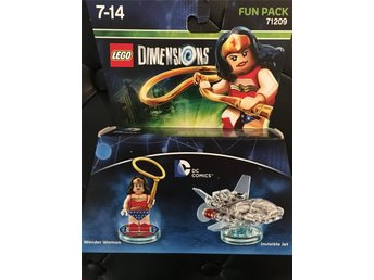 LEGO Dimensions 71209 Wonder Woman Fun Pack Ny oöppnad
