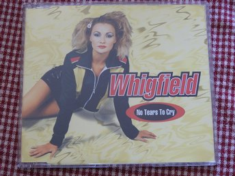 Whigfield - No Tear to Cry CD Single 1997 Euro House
