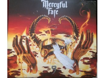 MERCYFUL FATE  9 papercase CD I  TOPPSKICK!