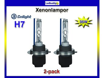 CNLight Xenon Lampor H7 35W 4300K High Quality xenonlampor  Superpris !