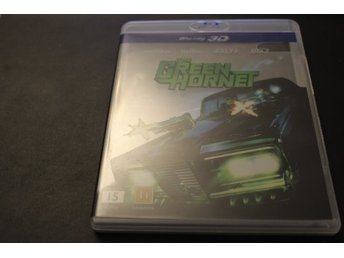 Bluray3D-film: The Green Hornet (Seth Rogen, Jay Chou, Cameron Diaz)