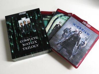 THE COMPLETE MATRIX TRILOGY (HD DVD) 3-disc box