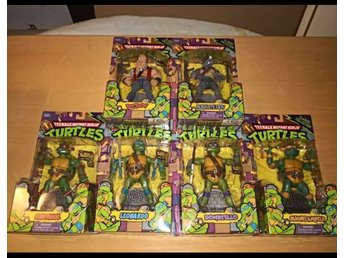 TMNT/TMHT - Turtles Classic Collection - Oöppnade