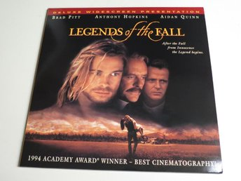 LEGENDS OF THE FALL (Laserdisc) Brad Pitt