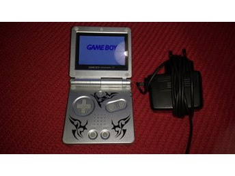 GBA SP AGS-101 Gameboy Game Boy Advance Tribal