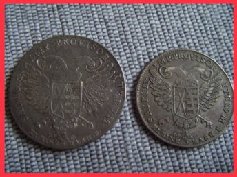 Germany. VIKARIAT 2/3 THALER + 1/3 TALER 1792 Friedrich August I. *SKICK !!