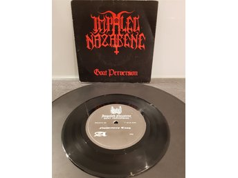 "Impaled Nazarene - Goat Perversion 7"" 1992 - Black Metal RARE"