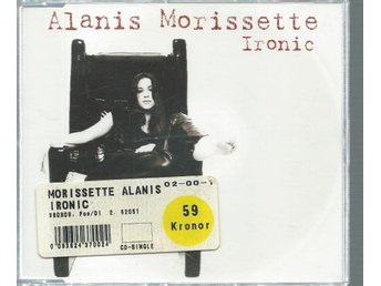 ALANIS MORISSETTE - IRONIC  ( CD MAXI/SINGLE )