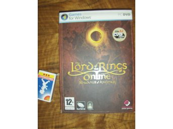 LORD OF THE RINGS Shadows of Angmar PC DVD -spel 2007 TOLKIEN