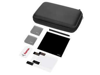 HAMA Kit Ny 3DS XL 8in1 Basic Svart