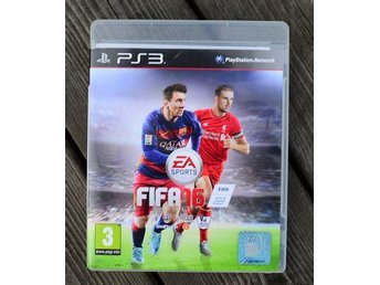 Playstation 3 PS3 spel FIFA16 FIFA 16