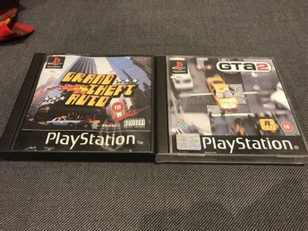 GTA 1 & 2 - Playstation