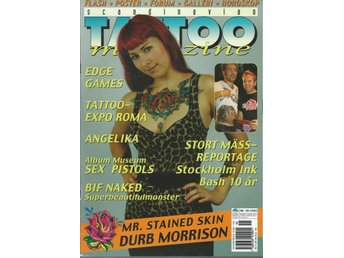 SCANDINAVIAN TATOO MAGAZINE NR 58.2006- POSTER !