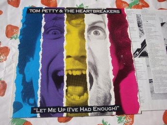 TOM PETTY and the HEARTBREAKERS - LET ME UP LP 1987