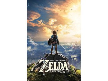Legend of Zelda Breath of the Wild Poster Pack Sunset 61 x 91 cm