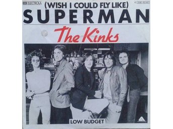 """The Kinks title* (Wish I Could Fly Like) Superman* Pop Rock 7"""" Germany - Hägersten - The Kinks title* (Wish I Could Fly Like) Superman* Pop Rock 7"""" Germany - Hägersten"""