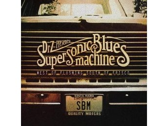 Supersonic Blues Machine: West of flushing.. -16 (CD) Ord Pris 159 kr SALE