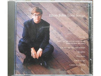 Elton John Love Songs CD (Candle in the wind, Sacrafice, Your Song)