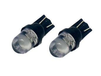 T10 w5w RBG Led med 1st Flux-led chip 12v DC  2-pack Disco lampa